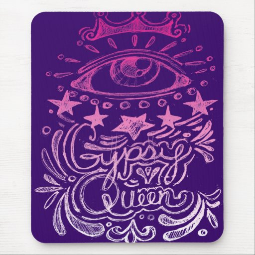 Gypsy Queen Mousepad