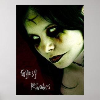 Gypsy Rhodes gothic poster