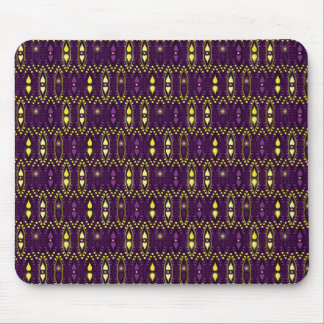 Gypsy Royal Purple Boho Bohemian Chic Mouse Pad