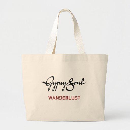 Gypsy Soul tote: WANDERLUST Tote Bags