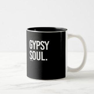 Gypsy Soul -   Yoga Fitness -.png Two-Tone Coffee Mug