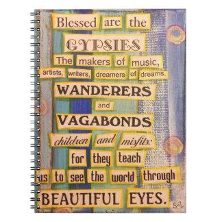 Gypsy Spiral Notebook