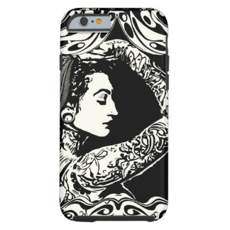 Gypsy tattooed woman phone case