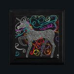 "Gypsy the magic unicorn complete keepsake box<br><div class=""desc"">Original design by Karen L M Edwards</div>"