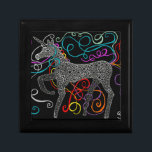 "Gypsy the magic unicorn complete keepsake box<br><div class=""desc"">Original design by Karen L M Edwards</div>"