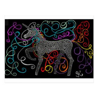 Gypsy the magic unicorn complete postcard