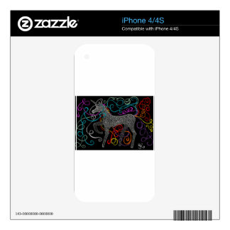 Gypsy the magic unicorn complete skins for iPhone 4