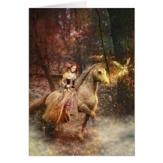 Gypsy Trail Greeting Card
