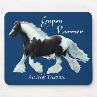 Gypsy Vanner an Irish treasure Mouse Pad