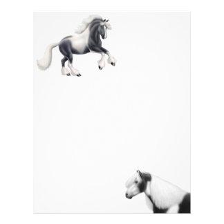 Gypsy Vanner Cob Horse Letterhead