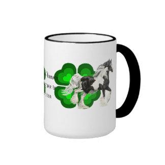 Gypsy Vanner, cob horse stallion Coffee Mug