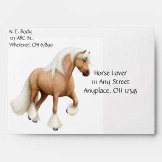 Gypsy Vanner Cob Horses Envelope