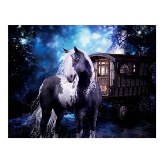Gypsy Vanner Dreams Postcard