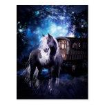 Gypsy Vanner Dreams Postcard