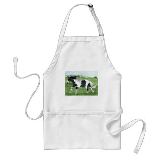 Gypsy Vanner Galloping Adult Apron