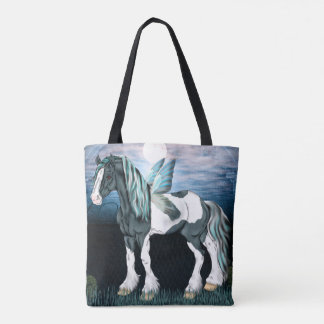 Gypsy Vanner Horse Fairy Tote Bag