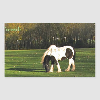 Gypsy Vanner Horse Gifts Stickers