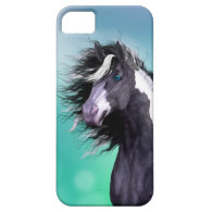 Gypsy Vanner Horse Head Iphone 5 Case