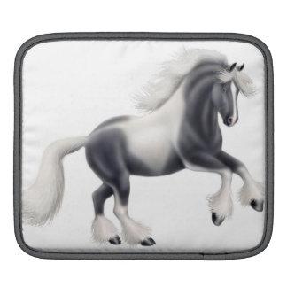 Gypsy Vanner Horse iPad Rickshaw Sleeve