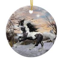 Gypsy Vanner Horse Ornament