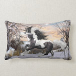 Gypsy Vanner Horse Throw Pillow