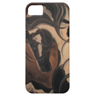 Gypsy Vanner iPhone 5 Case