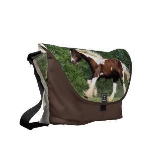Gypsy Vanner Messenger Bag