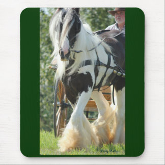 Gypsy Vanner Mouse Pad