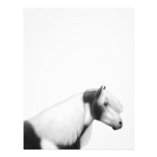 Gypsy Vanner Pinto Horse Letterhead