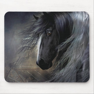 Gypsy Vanner Portrait Mouse Pad