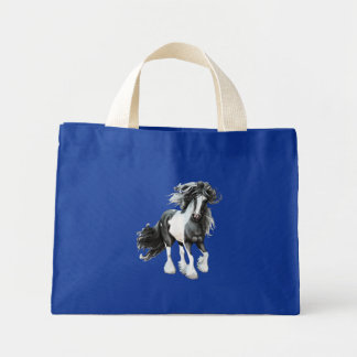 Gypsy Vanner...Prince Mini Tote Bag