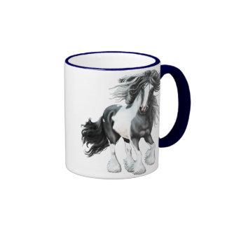 Gypsy Vanner...Prince Ringer Coffee Mug