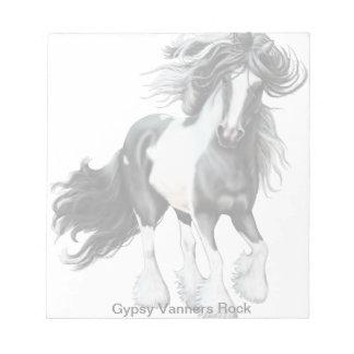 Gypsy Vanner Prince Notepad