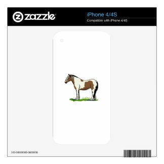 Gypsy Vanner Skins For The iPhone 4