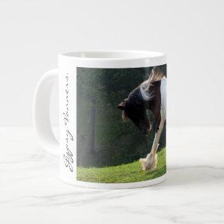Gypsy Vanner 20 Oz Large Ceramic Coffee Mug