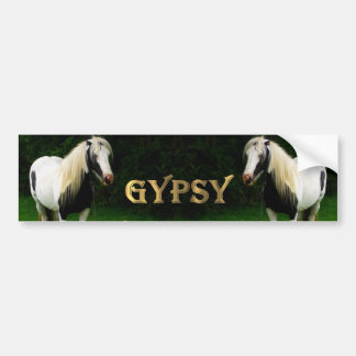Gypsy Vanners Car Bumper Sticker