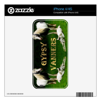 Gypsy Vanners Decal For The iPhone 4