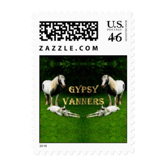 Gypsy Vanners Postage