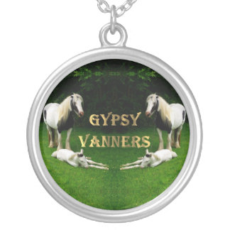 Gypsy Vanners Silver Plated Necklace