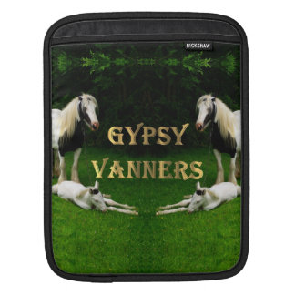 Gypsy Vanners Sleeve For iPads