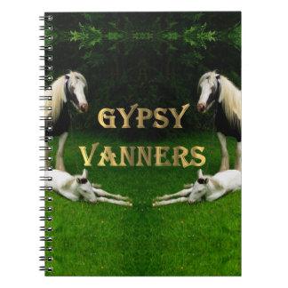 Gypsy Vanners Spiral Notebook