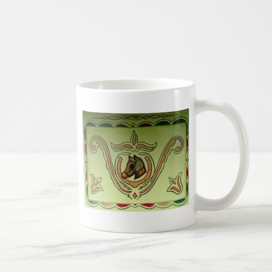 Gypsy wagon detail coffee mug