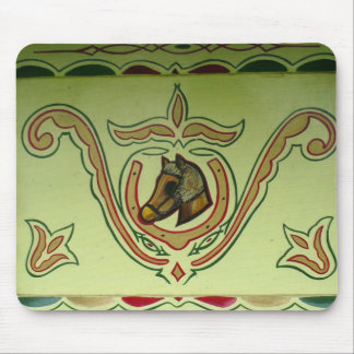 Gypsy wagon detail mouse pad