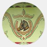 Gypsy wagon detail stickers