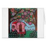 Gypsy Wagon Greeting Card