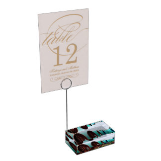 Gypsy wagons table number holder