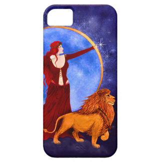 Gypsy Witch Fantasy Goddess Art Nouveau iPhone 5 Cases