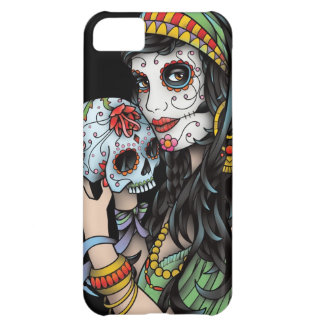 Gypsy Woman Day of the Dead iPhone 5C Cases