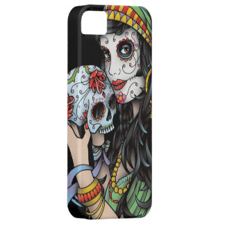 Gypsy Woman Day of the Dead iPhone SE/5/5s Case