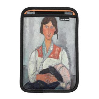 Gypsy Woman with Baby, 1919 (oil on canvas) iPad Mini Sleeve